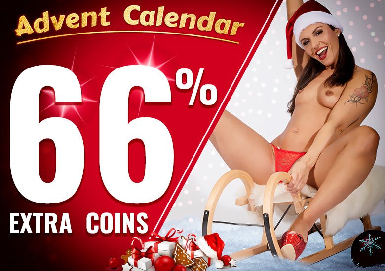 Advent Calendar: 66% Extra Coins with Jolee Love